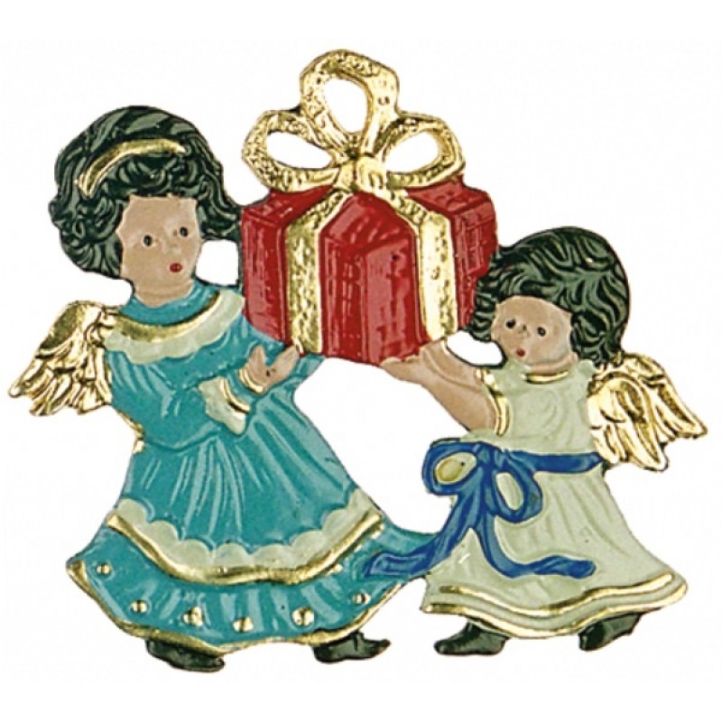 Angels with present