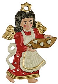 Angel with Christmas Cookies