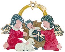 Angels with Baby Jesus