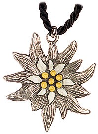 Edelweiss Silver Necklace