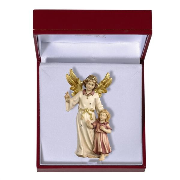 Guardian Angel and Girl in Gift Case