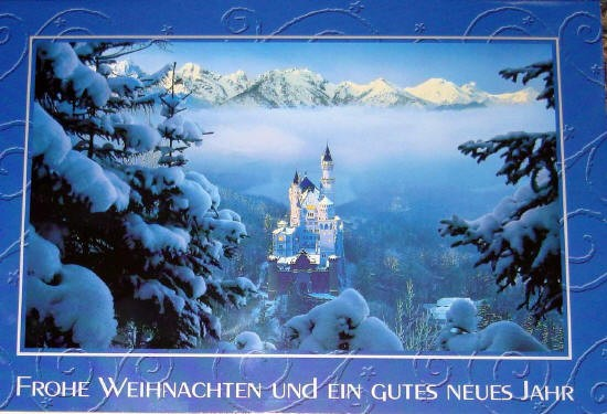 Greeting Cards Neuschwanstein