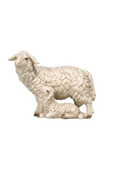 Rainell Sheep Standing with Lamb
