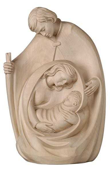 Neumeister Crib Block Nativity in Natural Finish