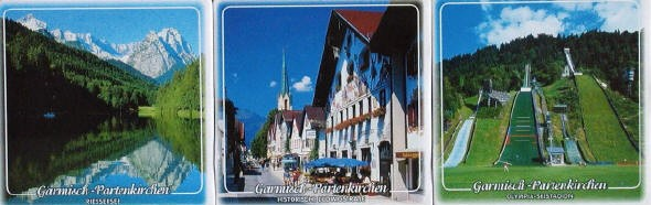 Garmisch Coasters Set Almost Europe Tourist Store