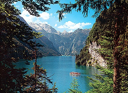 Lake Koenigsee Bavaria germany poster