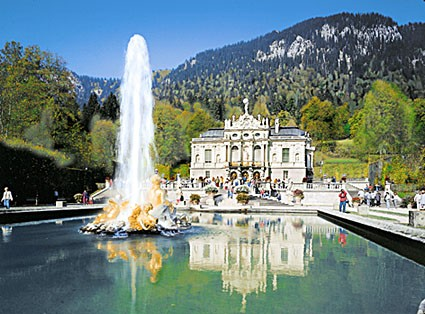 Linderhof Castle Germany Bavaria Poster
