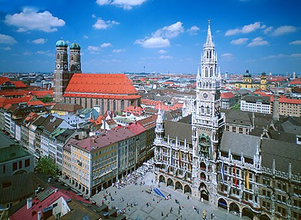 Muenchen bei Tag