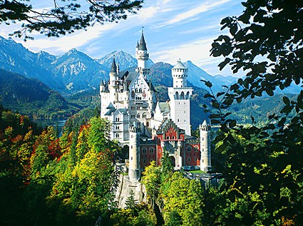 Neuschwanstein Summer Bavaria Castle