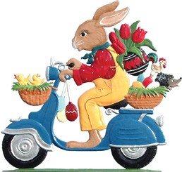 Moped Bunny