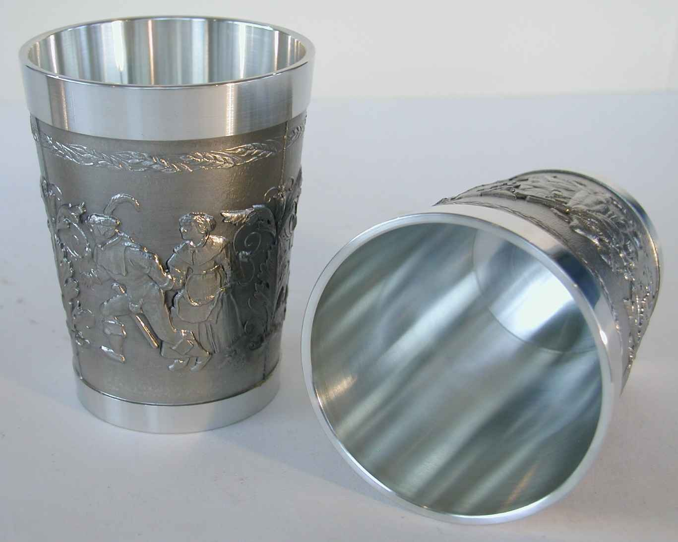 Pewter Beer Cup