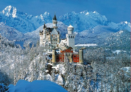 Neuschwanstein Winter