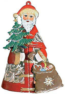 Shcweizer Filigree Santa with Tree