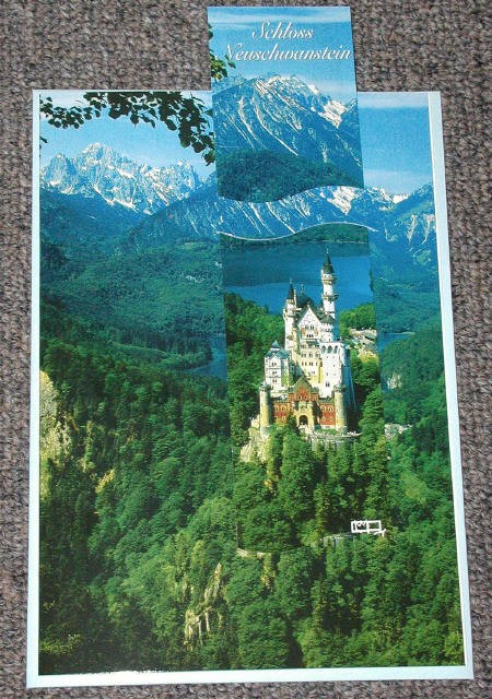 Neuschwanstein Postcard Summer