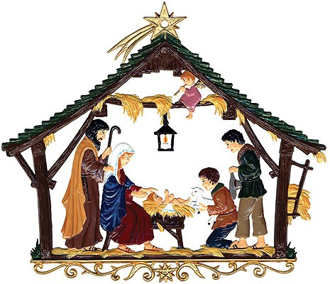 Large Nativity wall hanging