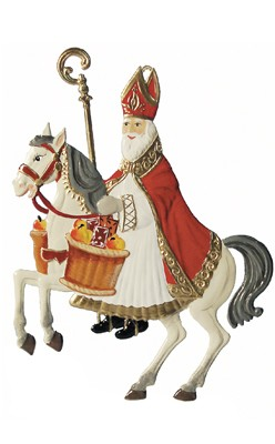 St. Nikolas on Horseback ornament