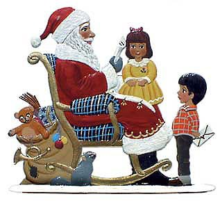 Schweizer Santa with Children