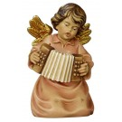 Bell Angel with Piano Accordian