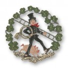 Chimney Sweep in Wreath