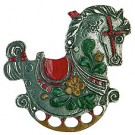 Rocking Horse Pewter Ornament