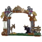 Pewter Nativity Stable