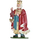 King with Crown Pewter Figurine