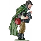 Roaming Shepherd Pewter Figurine