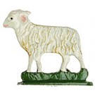 Standing Sheep Pewter Figurine