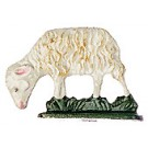 Grazing Sheep Pewter Figurine