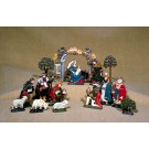 Keuhn Pewter Nativity Set