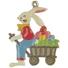 Bunny with Wagon