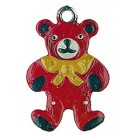 Teddy Bear Pewter Charm