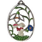 Bunny Pewter Ornament