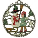 Snowman for hanging