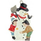 Snowman with Children