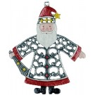 Filia Santa Pewter Ornament