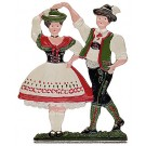 Bavarian Dancing Pair