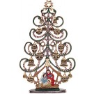 Christmas Tree with Nativity Figurine