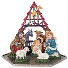 Pewter Nativity Figurine
