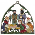 Large Nativity Hanging Ornament