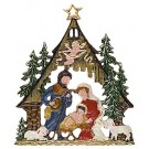 Forest Nativity I Ornament