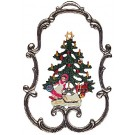 Tree and Doll Framed