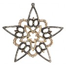 Pewter Tree Star No. 6