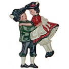 Dancing Pair Magnet