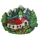 Alpine Cottage Pin