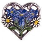 Gentian in Heart