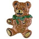 Bear with Green Bow
