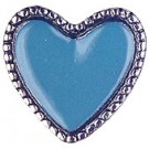 Blue Heart Pin