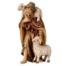 Shepherd with Two Sheep