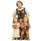Rainell Shepherdess with Two Children
